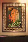 Poster, Les Pietans Restaurant, Paris, France, Europe