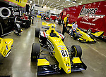 Teams prepare for the Inaugural Baltimore Grand Prix in Baltimore, Maryland on September 2, 2011.