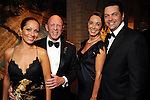 From left: Vika Soto, Lester and Sue Smith and Angelo Soto at the Dancing with the Houston Stars event benefitting the Houston Ballet at the home of John and Becca Thrash  Friday Sept. 24, 2010. (Dave Rossman/For the Chronicle)