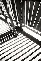 Detail of shadows on George Washington Bridge<br />