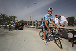 Omega Pharma-Quick Step team rider Stijn Vandenbergh (BEL) signs on before the start of the 3rd Stage of the 2012 Tour of Qatar running 146.5km from Dukhan Souq, Dukhan to Al Gharafa, Qatar. 7th February 2012.<br /> (Photo Eoin Clarke/Newsfile)