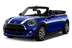 2018 Mini Mini Chilli 2 Door Convertible angular front stock photos of front three quarter view