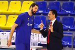 Liga ENDESA 2020/2021. Jornada: 32.<br /> FC Barcelona vs Baxi Manresa: 97-89.<br /> Nikola Mirotic & Pedro Martinez.