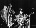 KISS Gene Simmons 1979..© Chris Walter..