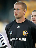 LA Galaxy rookie goalkeeper Josh Saunders. LA Galaxy defeated the Colorado Rapids 3-2 at Home Depot Center stadium in Carson, California on Sunday October 12, 2008. Photo by Michael Janosz/isiphotos.com