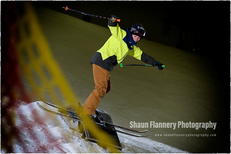 Pix: Shaun Flannery/shaunflanneryphotography.com<br /> <br /> COPYRIGHT PICTURE>>SHAUN FLANNERY>01302-570814>>07778315553>><br /> <br /> 8th June 2016<br /> Snozone Castleford<br /> Freestyle/slopestyle<br /> <br /> Mason Flannery