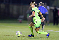 Boyds, MD - Wednesday Sept. 07, 2016: Merritt Mathias during a regular season National Women's Soccer League (NWSL) match between the Washington Spirit and the Seattle Reign FC at Maureen Hendricks Field, Maryland SoccerPlex.