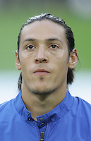 Mauro Camoranesi.  taly defeated Germany, 2-0, in overtime in their FIFA World Cup semifinal match at FIFA World Cup Stadium in Dortmund, Germany, July 4, 2006.