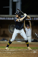 Chris Meyers (11) (University of Toledo) of the Wilson Tobs at bat against the High Point-Thomasville HiToms at Finch Field on July 17, 2020 in Thomasville, NC. The Tobs defeated the HiToms 2-1. (Brian Westerholt/Four Seam Images)