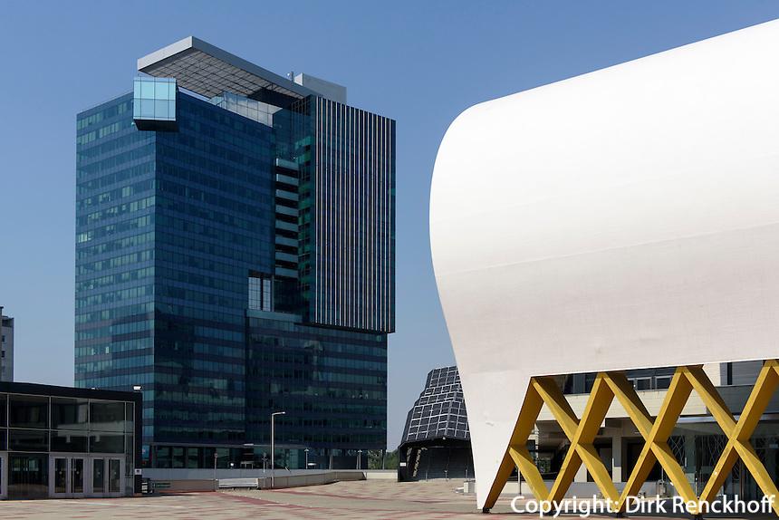 UNO-City und Austria Center Vienna, Wien, Österreich<br /> UNO-City and Austria center Vienna, Vienna, Austria