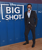 """LOS ANGELES, CA - APRIL 14: John Stamos attends the world premiere drive-in screening of the Disney + original series """"BIG SHOT"""" at The Grove in Los Angeles, California on April 14, 2021. (Photo by Stewart Cook/Disney +/PictureGroup)"""
