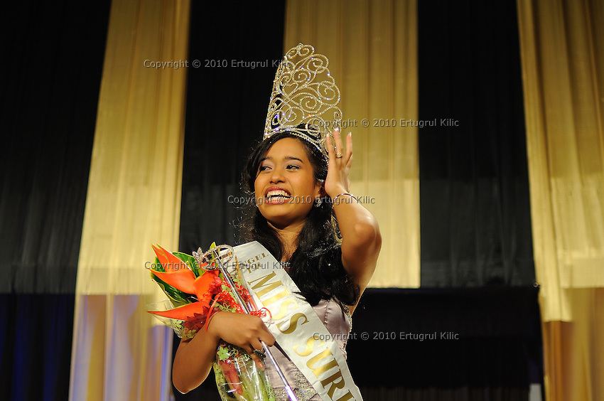 Miss Suriname 2010....Photos provided for non-defamatory editorial use only, on a pay per use basis - Please credit: Ertugrul Kilic Photography - No syndication without agreement. All photos remain the copyright of Ertugrul Kilic - Copyright © 2010 - All rights are reserved.