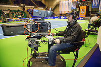 15-12-12, Rotterdam, Tennis Masters 2012, Television Camers