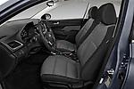 Front seat view of a 2018 Hyundai Accent Limited 4 Door Sedan front seat car photos