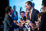 """Carlos Loret de Mola and Spanish king Felipe attends XXXIV International prizes of journalism """"Rey de Espana"""" and the XIII edition of the prize """"Don Quijote"""" of journalism in Madrid, Spain. March 27, 2017. (ALTERPHOTOS / Rodrigo Jimenez)"""