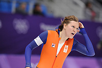 OLYMPIC GAMES: PYEONGCHANG: 12-02-2018, Gangneung Oval, Long Track, 1500m Ladies, Lotte van Beek (NED), ©photo Martin de Jong
