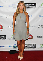 HOLLYWOOD, LOS ANGELES, CA, USA - OCTOBER 16: Vanessa Ray arrives at the 2014 Hollywood Film Festival - Opening Night Gala held at ArcLight Hollywood on October 16, 2014 in Hollywood, Los Angles, California, United States. (Photo by Celebrity Monitor)