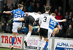 Ayr United v St Johnstone…..08.02.20   Somerset Park   Scottish Cup 5th Round<br />Callum Hendry scores his first goal<br />Picture by Graeme Hart.<br />Copyright Perthshire Picture Agency<br />Tel: 01738 623350  Mobile: 07990 594431