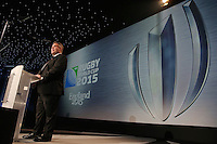 LONDON, ENGLAND - NOVEMBER 01:  Jason Leonard the President of the RFU speaks during the official handover to RWC 2019 at the World Rugby Awards 2015 at Battersea Evolution on November 1, 2015 in London, England.  (Photo: World Rugby)