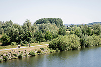 cycling path along the River Schelde<br /> <br /> cycling hotspots & impressions in the Vlaamse Ardennen (Flemish Ardennes) <br /> <br /> Cycling In Flanders <br /> Flanders Tourist Board<br /> <br /> ©kramon