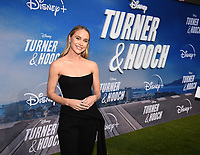 """LOS ANGELES, CA - JULY 15: Becca Tobin attends a premiere event for the Disney+ original series """"Turner & Hooch"""" at Westfield Century City on July 15, 2021 in Los Angeles, California. (Photo by Frank Micelotta/Disney+/PictureGroup)"""