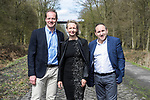 Tour Director Christian Prudhomme ASO at the Trouee d'Arenberg during the reconaissance of the pave sectors before the 2018 Paris-Roubaix. 3rd April 2018.<br /> Picture: ASO/P.Ballet | Cyclefile<br /> <br /> <br /> All photos usage must carry mandatory copyright credit (© Cyclefile | ASO/Pauline Ballet)