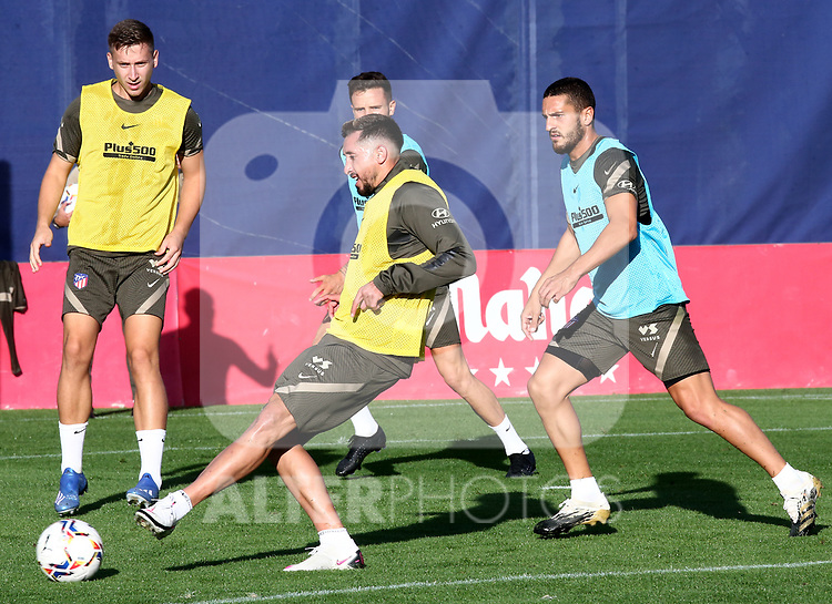 Atletico de Madrid's Hector Herrera during training session. September 18,2020.(ALTERPHOTOS/Atletico de Madrid/Pool)