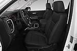 Front seat view of a 2019 Chevrolet Silverado 1500 LTZ 4 Door Pick Up front seat car photos
