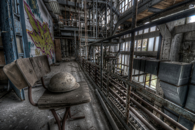 Old chemical factory