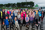 The Early Birds<br /> The first of the walkers about to set out from Laune Rangers J.P. O'Sullivan  Park, Killorglin on a Fundraising walk for actionforamber & chloesjourney on Sunday morning.