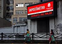 22/05/2021 - IMPOSTOMETRO CHEGA A MARCA DE 1 TRILHÃO