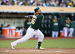 Derek Norris<br /> Boston Red Sox at Oakland A's at O.Co coliseum in Oakland, June 20, 2014