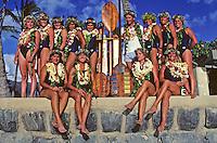 Outrigger Canoe Club Women's team, Women's Molokai to Oahu canoe race.
