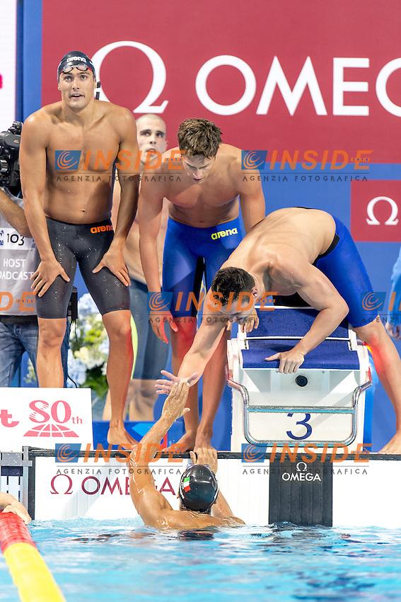 4x100 freestyle men Italy<br /> Swimming Nuoto Kazan Arena<br /> Day10 02/08/2015 Evening Finals<br /> XVI FINA World Championships Aquatics Swimming<br /> Kazan Tatarstan RUS July 24 - Aug. 9 2015 <br /> Photo G.Scala/Deepbluemedia/Insidefoto