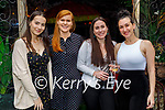 Enjoying Molly J's on Saturday, l to r: Arlinda Jshari, Sarah McAulliffe and Niamh O'Connor