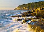 Shore near Otter Cliff, Acadia National Park, Maine