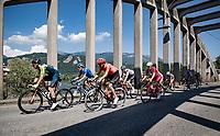 the breakaway group<br /> <br /> 114th Il Lombardia 2020 (1.UWT)<br /> 1 day race from Bergamo to Como (ITA/231km) <br /> <br /> ©kramon