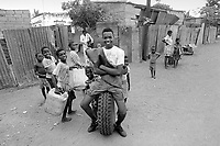 - Mozambique 1993,  Barrio Mulene, at the periphery of Maputo<br />