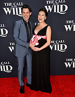 """LOS ANGELES, CA: 13, 2020: Richard de Klerk & Cara Gee at the world premiere of """"The Call of the Wild"""" at the El Capitan Theatre.<br /> Picture: Paul Smith/Featureflash"""