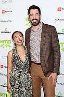 LOS ANGELES - OCT 16:  Linda Phan, Drew Scott at the Environmental Media Association Awards at GEARBOX LA on October 16, 2021 in Van Nuys, CA