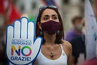 13.09.2020 - Così NO - Demo To Vote No At 2020 Italian Constitutional Referendum