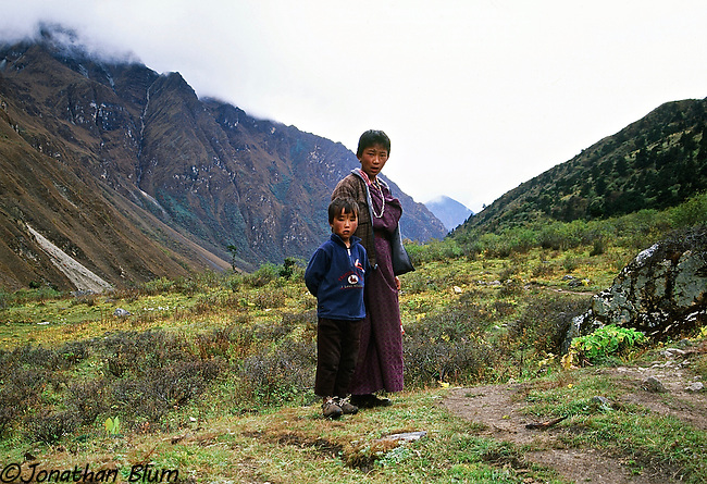 Brother and Sister, Bhutan