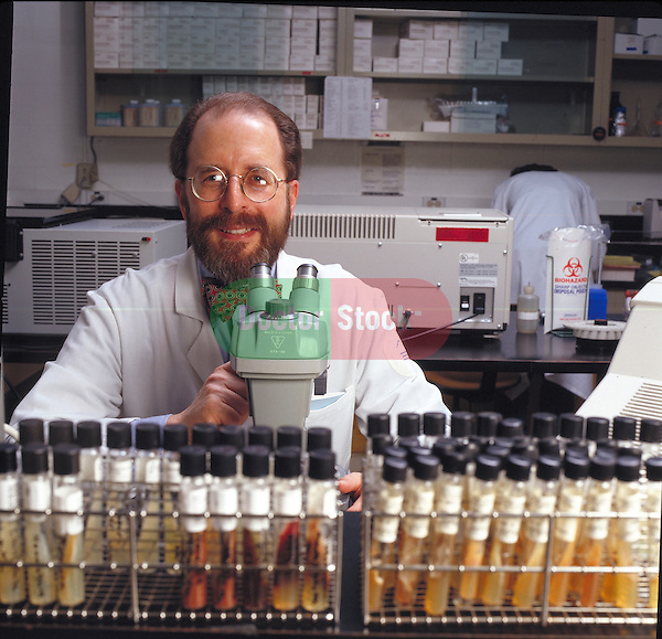 portrait of researcher in lab