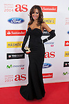 Grecia Castta poses during AS Sport Female Awards ceremony in Madrid, Spain. December 15, 2014. (ALTERPHOTOS/Victor Blanco)