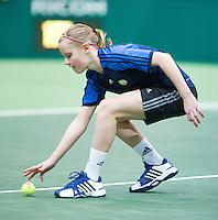 11-02-13, Tennis, Rotterdam, ABNAMROWTT, Ballgirl Suzan Lames