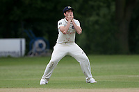 Frustration for J Ellis-Grewal of Wanstead during Wanstead and Snaresbrook CC (fielding) vs Brentwood CC, Hamro Foundation Essex League Cricket at Overton Drive on 19th June 2021