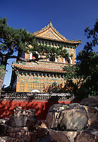 Temple of the Sea of Wisdom Summer Palace Beijing China.