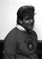 Jef Barber from a very dusty negative, 1987.  &#xA;<br />