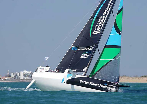 New boat, full sponsorship – Tom Dolan gets to grips with the foiling Figaro 3