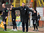 Dundee United v St Johnstone.....04.05.13      SPL.Steve Lomas shouts instructions.Picture by Graeme Hart..Copyright Perthshire Picture Agency.Tel: 01738 623350  Mobile: 07990 594431
